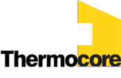 Thermocore Logo for dark backgrounds