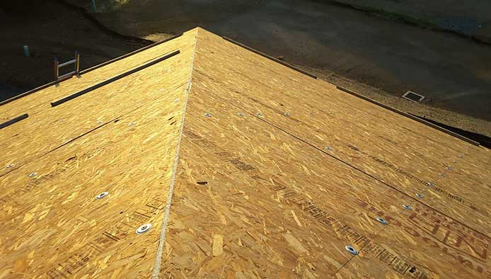 Public Works Commercial Building with Thermocore Polyurethane SIP Roof Panels