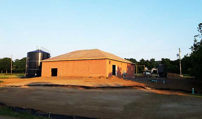 Public Works Commercial Building with Thermocore Polyurethane SIP Panels