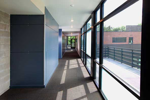 Thermocore's SIP Wall Panels in an energy efficient multi-family project