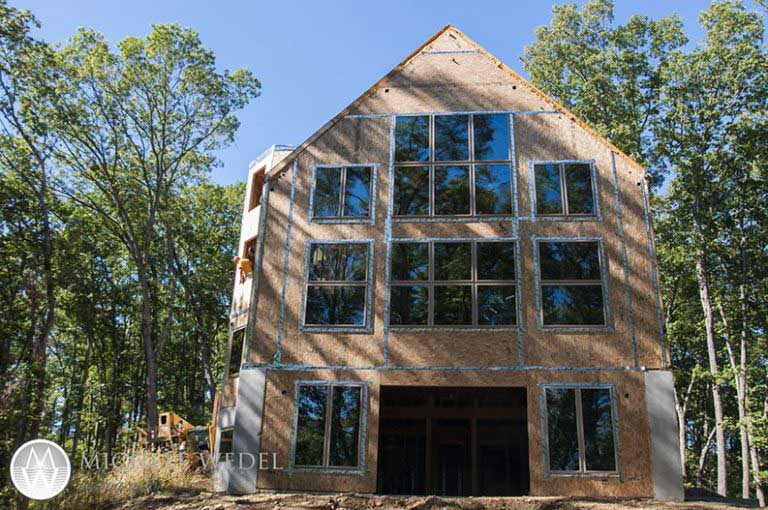 Design Build Owner of Timber Framer used Thermocore Insulated Panels in his home building project in Indiana