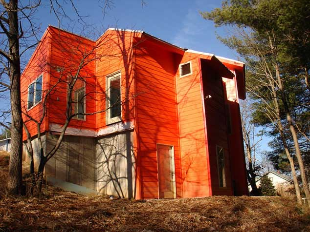 Architect uses Thermocore's Wall and Roof SIP Panels on own home in Kentucky