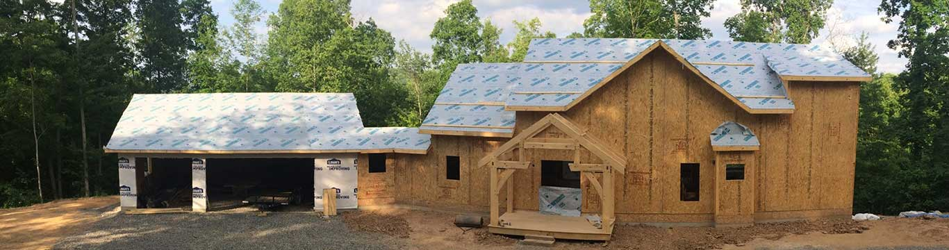 Timberframe Home using Thermocore SIPs
