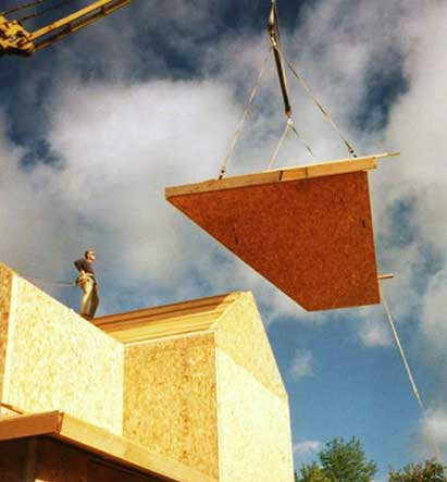 Timber Framing Business Owner chooses Thermocore Insulated Panels for his new home build in Ohio