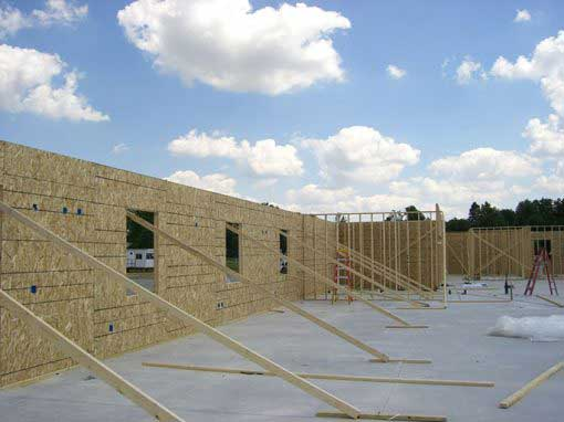 Residential Building Project uses Thermocore Insulated Panels in Indiana