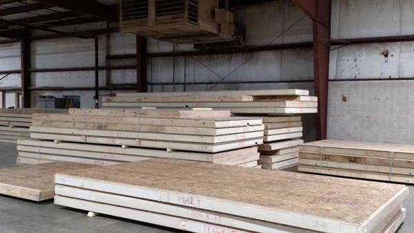 Stacked Thermocore Structural Insulated Panels