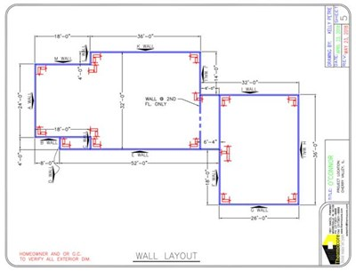 Wall Layout Design