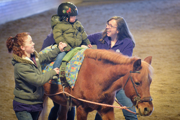 Physical therapy on horseback