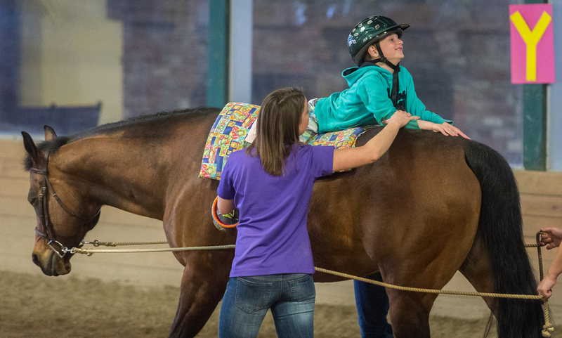 Equine-assisted occupational therapy