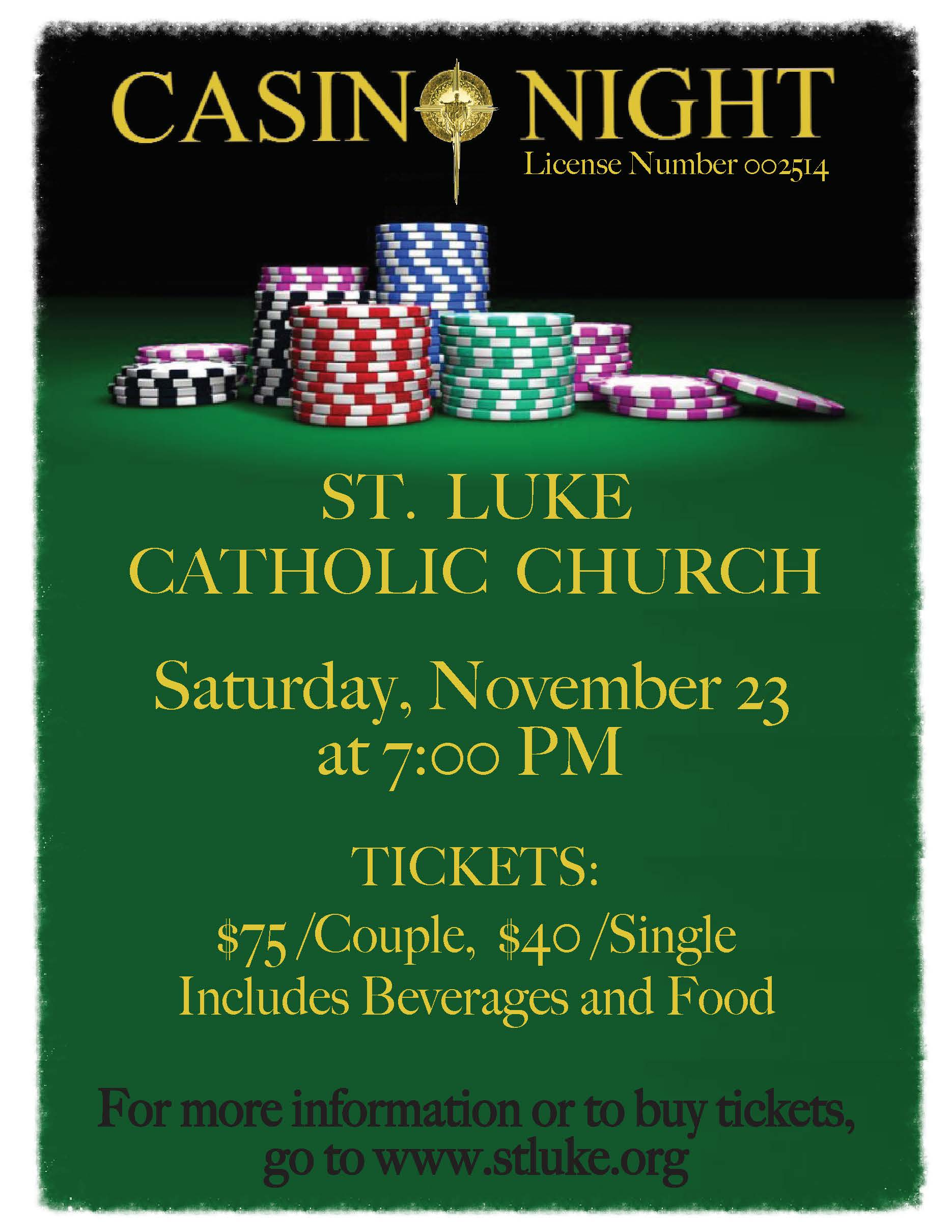 Casino Night Info 2019