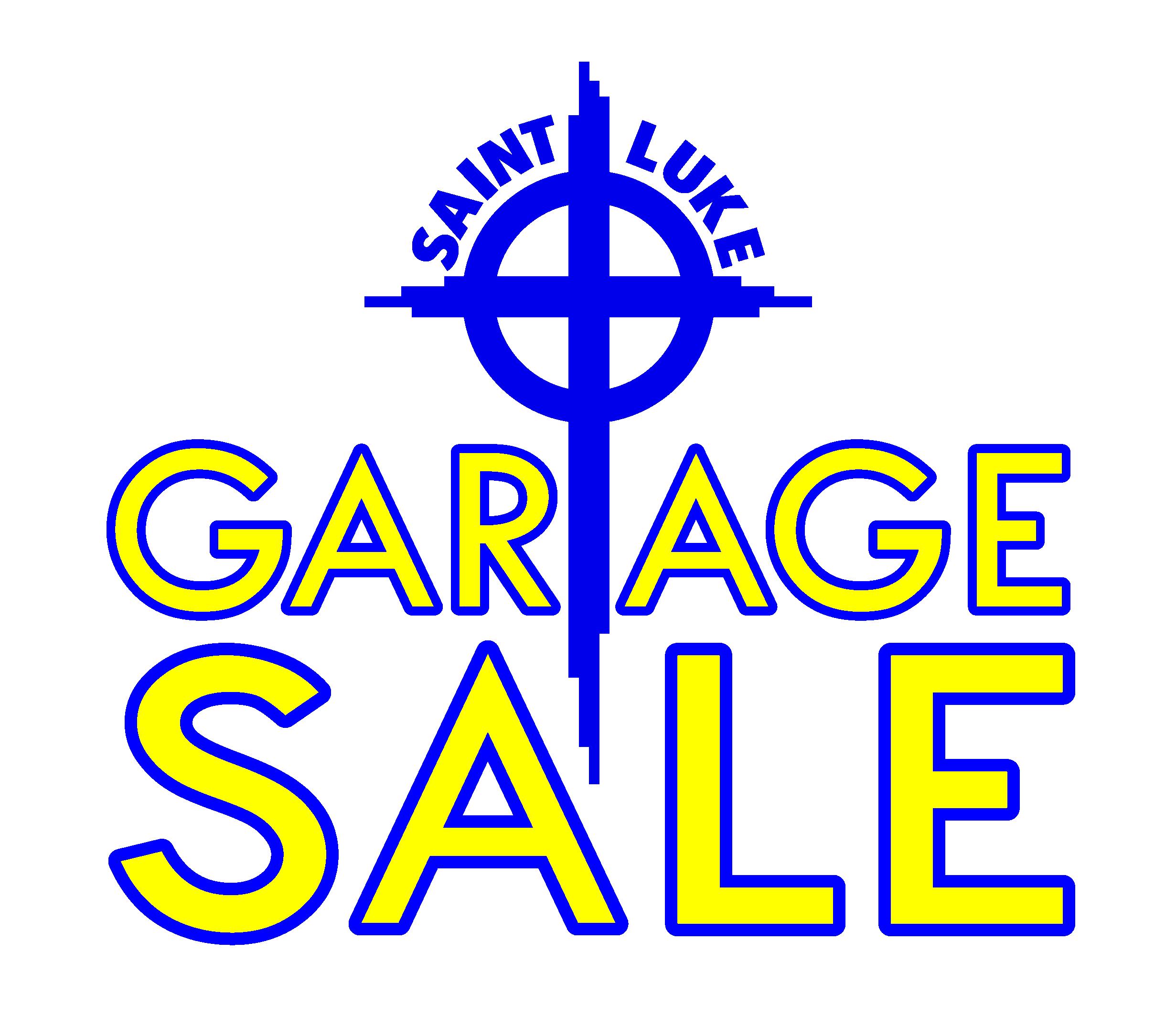 Annual Garage Sale (August 3-4)
