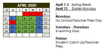 April eLearning Calendar