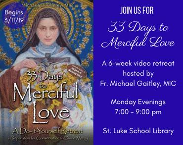 33 Days to Mercy