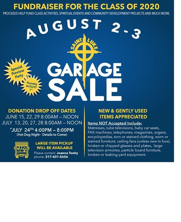 Garage Sale Square Flyer