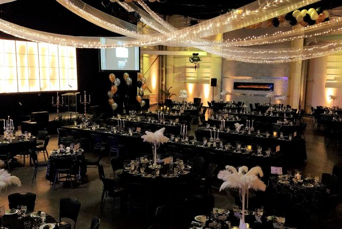 Great Gutsby Non-Profit Fundraiser Event Downtown Indianapolis Gatsby