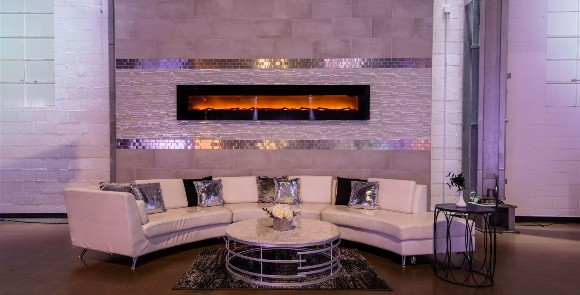 Fireplace Indoor Event Venue Indianapolis Downtown