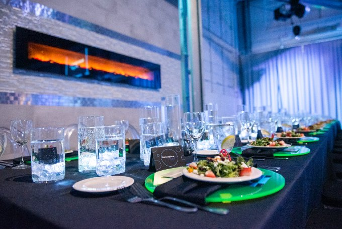 Glow Party Corporate Event Venue Award Banquet Downtown Indianapolis