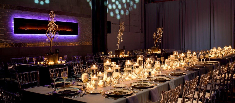 Crane Bay Wedding Reception Downtown Indianapolis