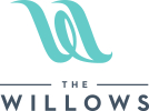 Logo for The Willows Event Center in Indianapolis, Indiana