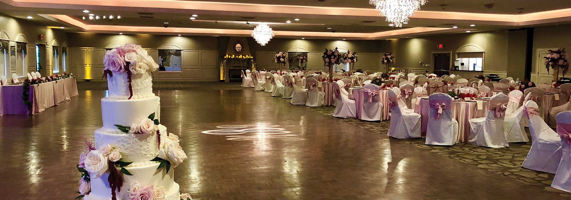 Formal Wedding Reception at The Ballroom at The Willows