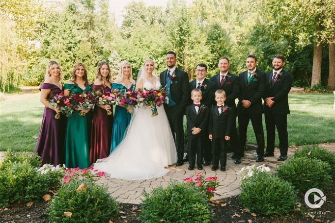 Wedding Gardens Bridal Party Gallery Photo 2