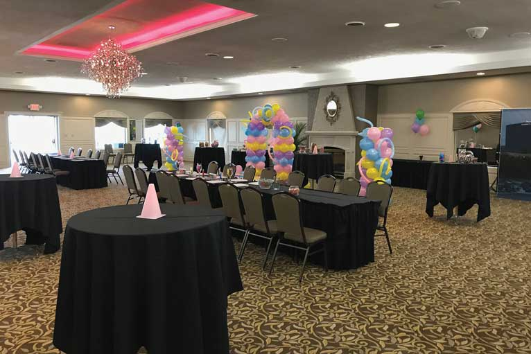 Celebrate with friends for your next social event at The Ballroom at The Willows in Indianapolis