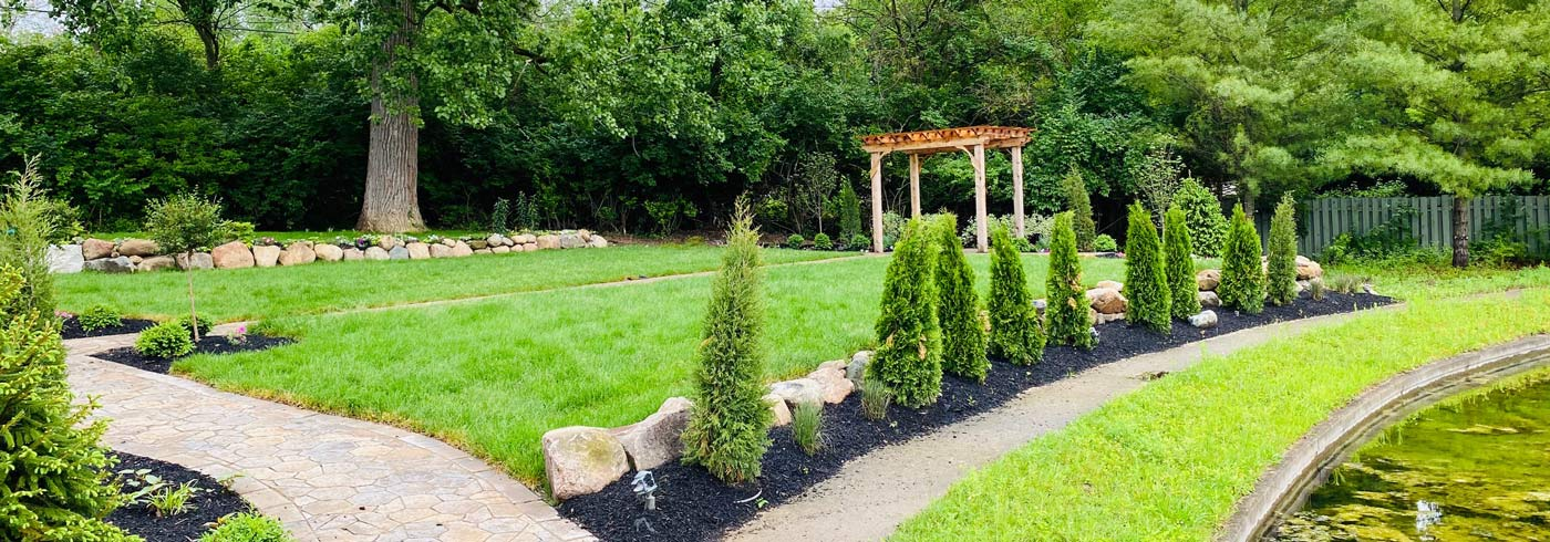 The Terrace Garden at The Willows is the perfect Indianapolis outdoor wedding ceremony venue