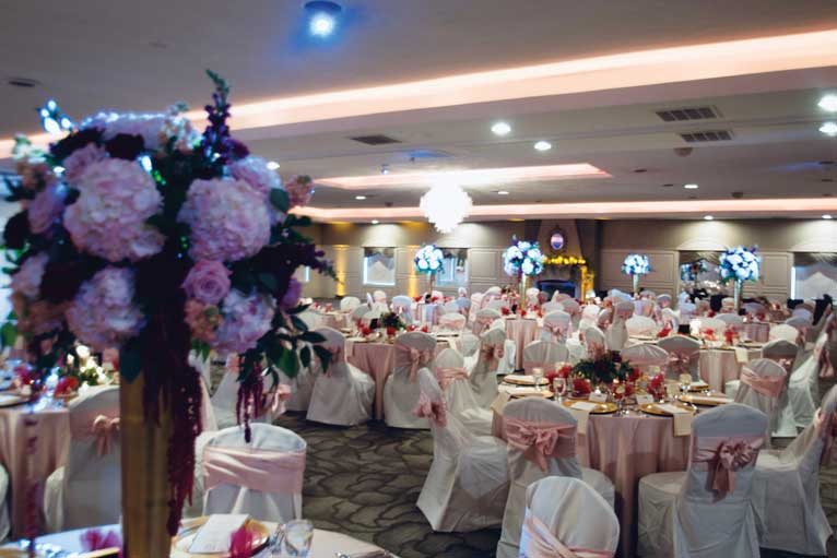 Formal wedding receptions are perfect for our formal The Ballroom at The Willows