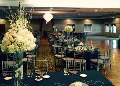 A formal corporate event hosted at The Ballroom at The Willows in Indianapolis