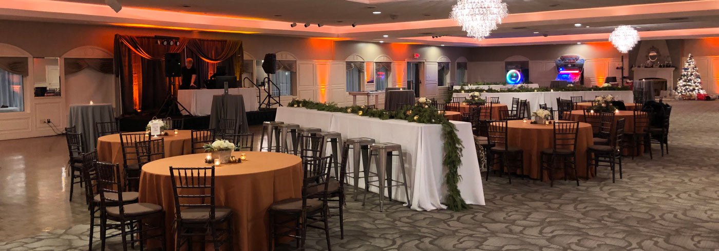 The BRI Inc corporate event featured staging at The Ballroom at The Willows