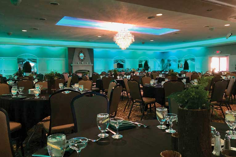A charity event for an Indianapolis nonprofit at The Ballroom at The Willows