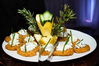Hors d'oeuvres by Crystal Catering