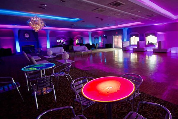 The Ballroom at The Willows hosts a solar system themed prom for a local Indianapolis high school