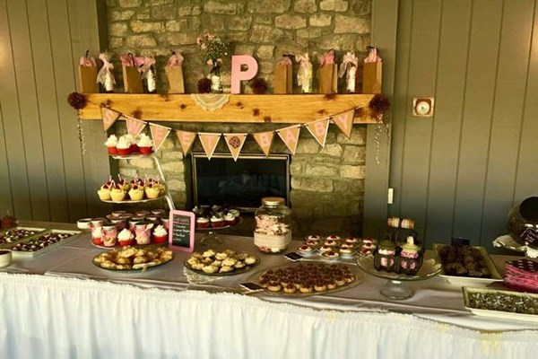 Baby shower hosted at The Lodge at The Willows in Indianapolis