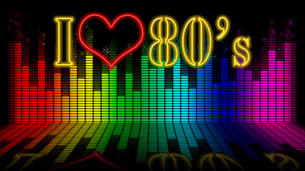 I heart the 80s is a great corporate event theme