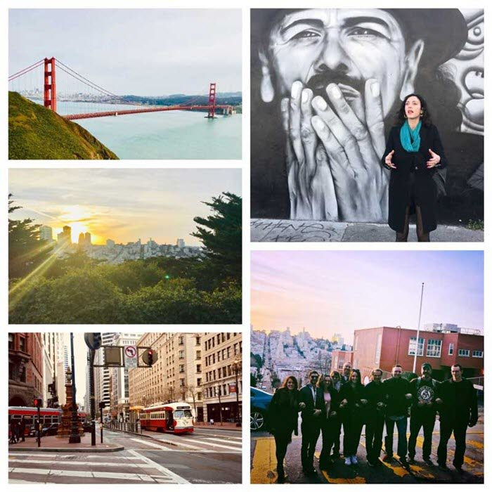 The Willows team taking San Francisco sights and culture in to help you with ideas to plan your next event