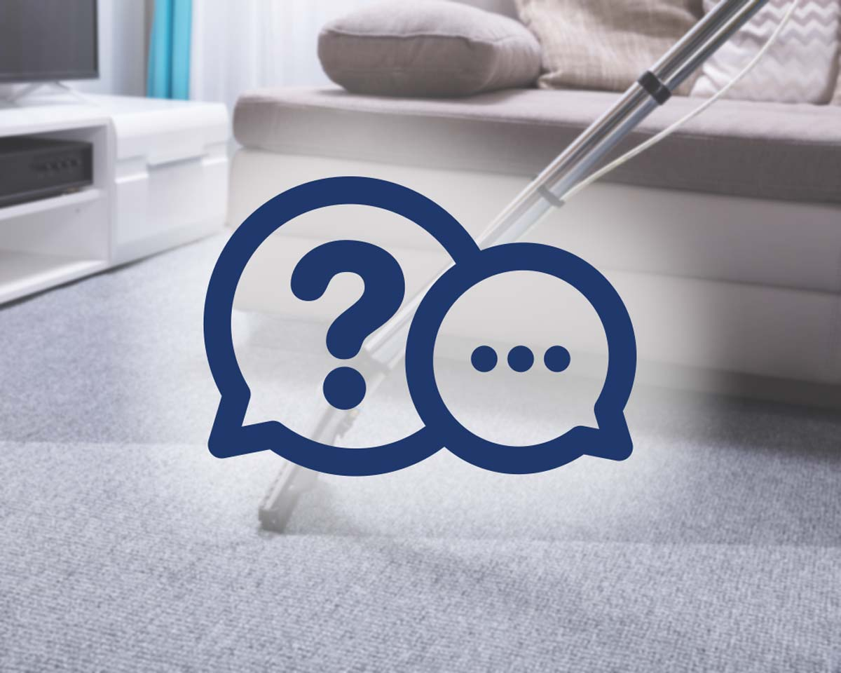 Carpet cleaning frequently asked questions