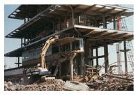 Indianapolis Motor Speedway Demolition