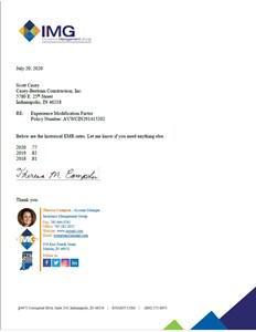 2020 EMR Letter - Image