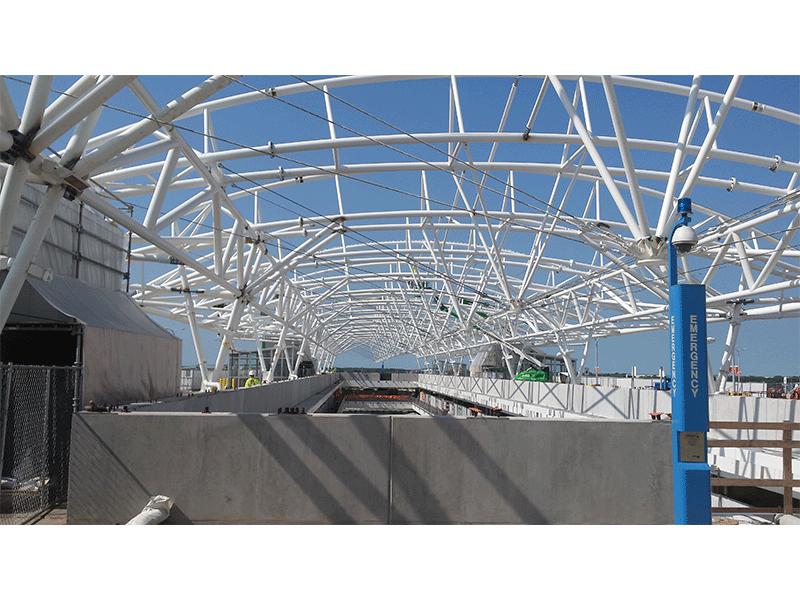 Airport Garage Construction Public Municipal State