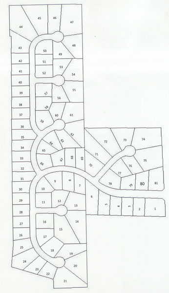 Sargent Creek neighborhood map