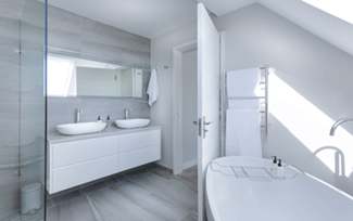 Clean Bathroom with Accent Maid Service | Carmel, Zionsville, Westfield, and Nora