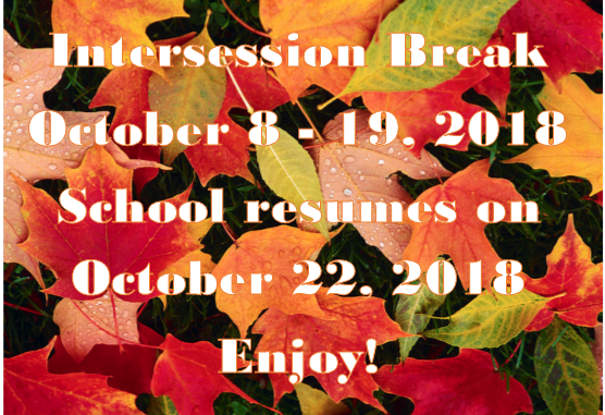 Fall Image with Break Text