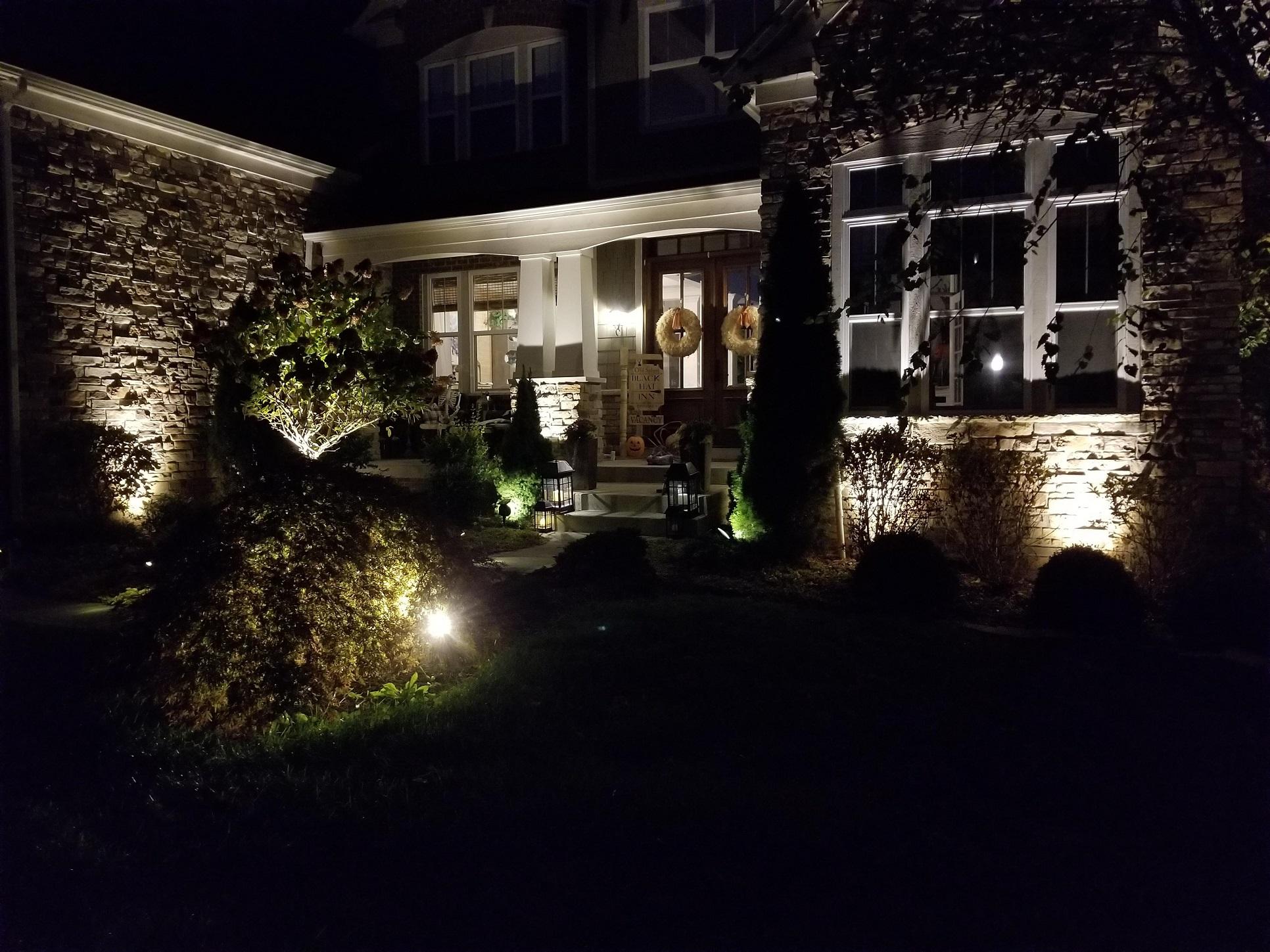 Landscape lighting Avon17