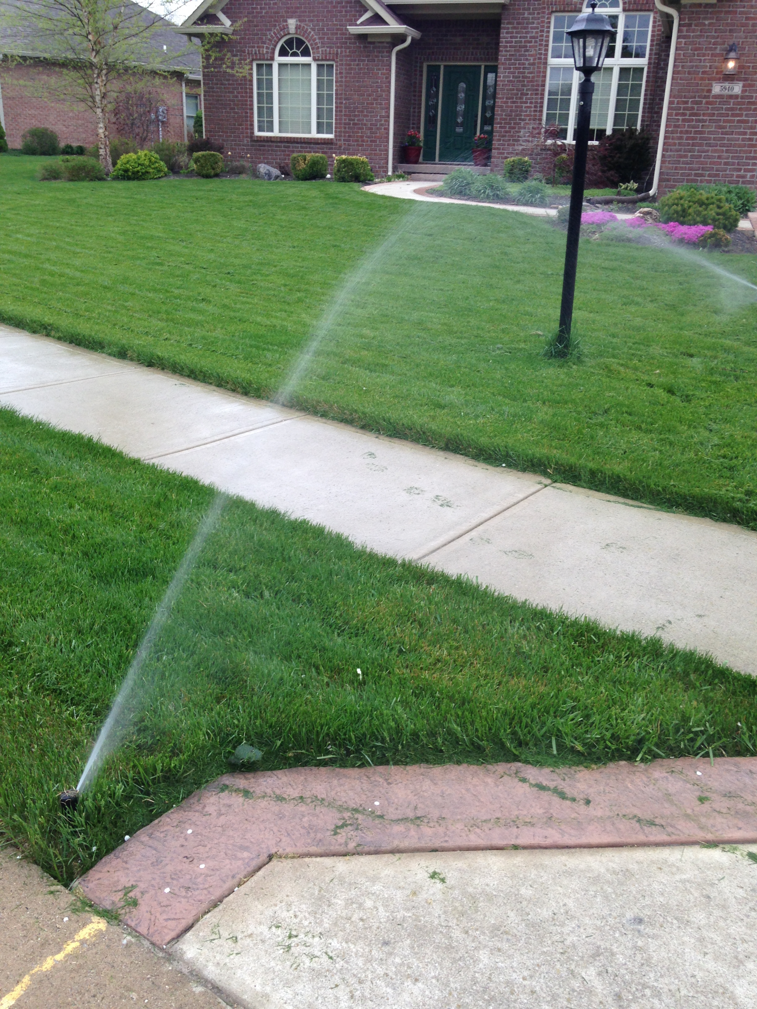 Carmel Sprinkler System Installation