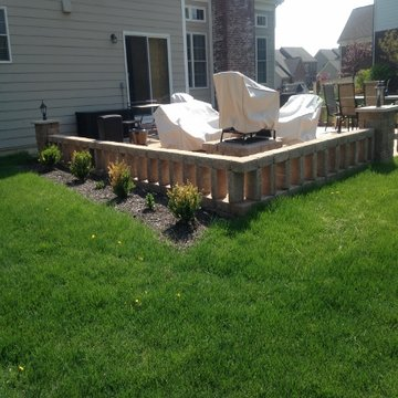Zionsville, Indiana Landscaping Project