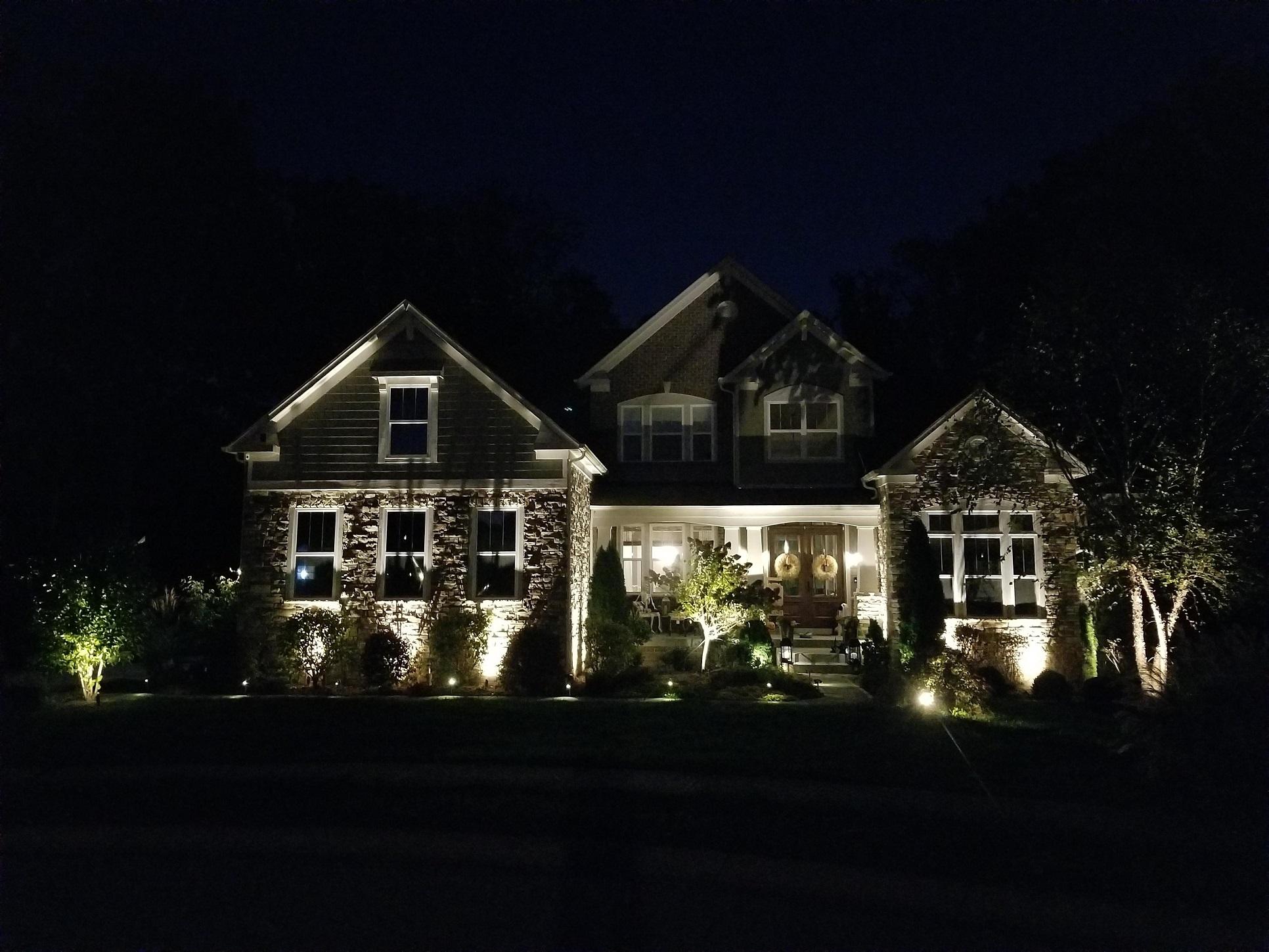 Landscape lighting  Avon10