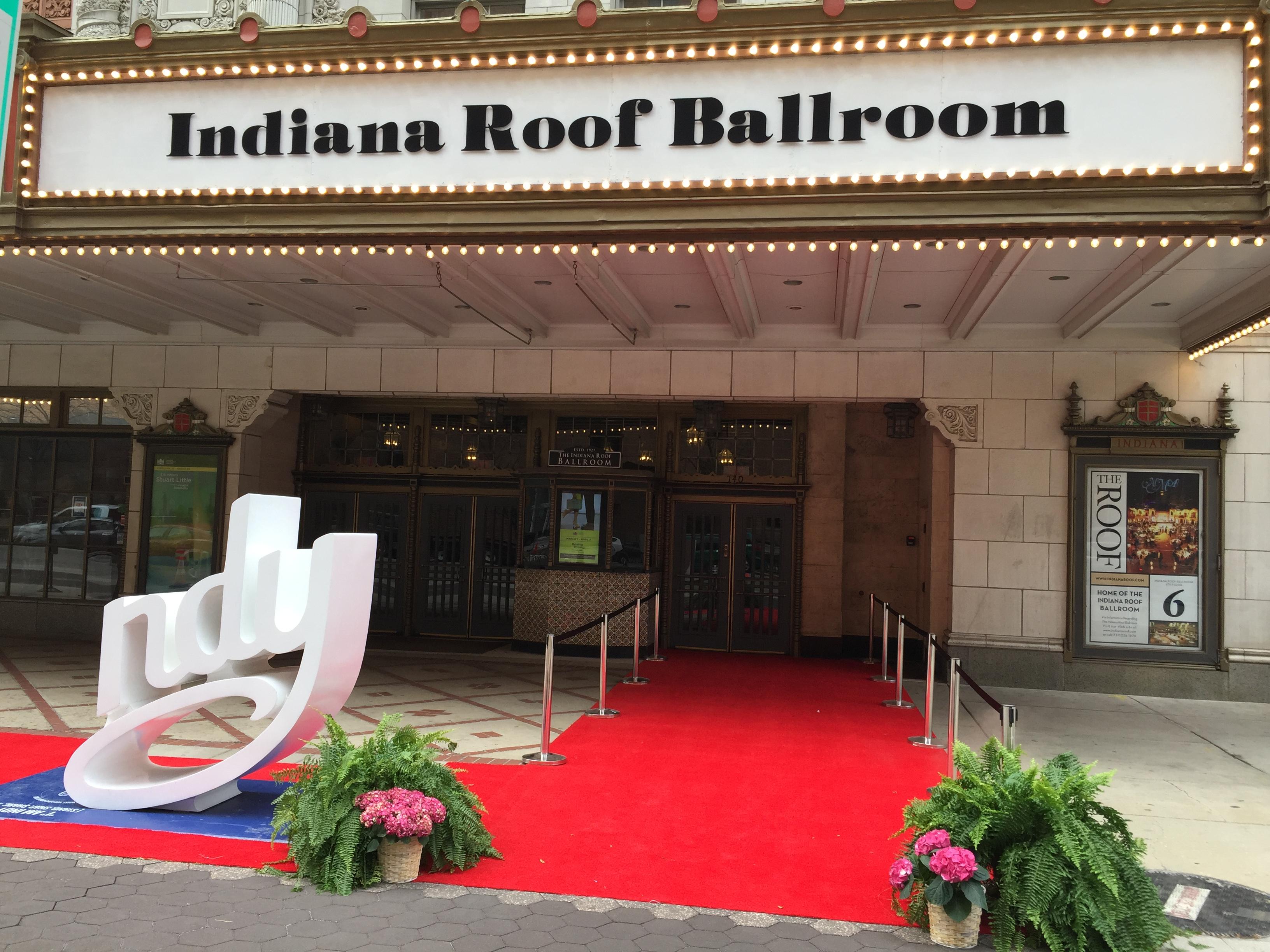 red carpet visit indy
