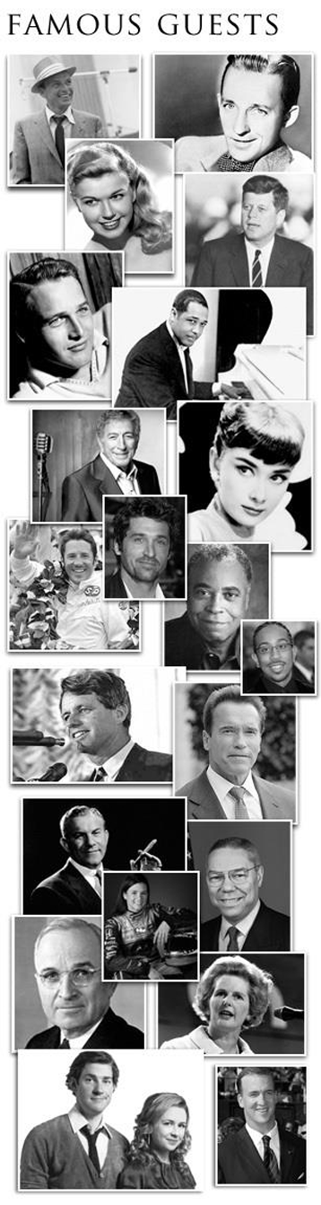 Famous Guests of the Historic Indiana Roof Ballroom (Indianapolis Event Venue)