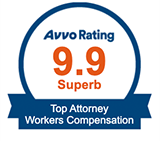 Carlock Legal has a 9.9 Rating on Avvo making Charles Carlock a Top Rated Workers Compensation Lawyer